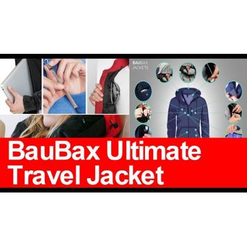 Baubax The best travel Jackets worlwide